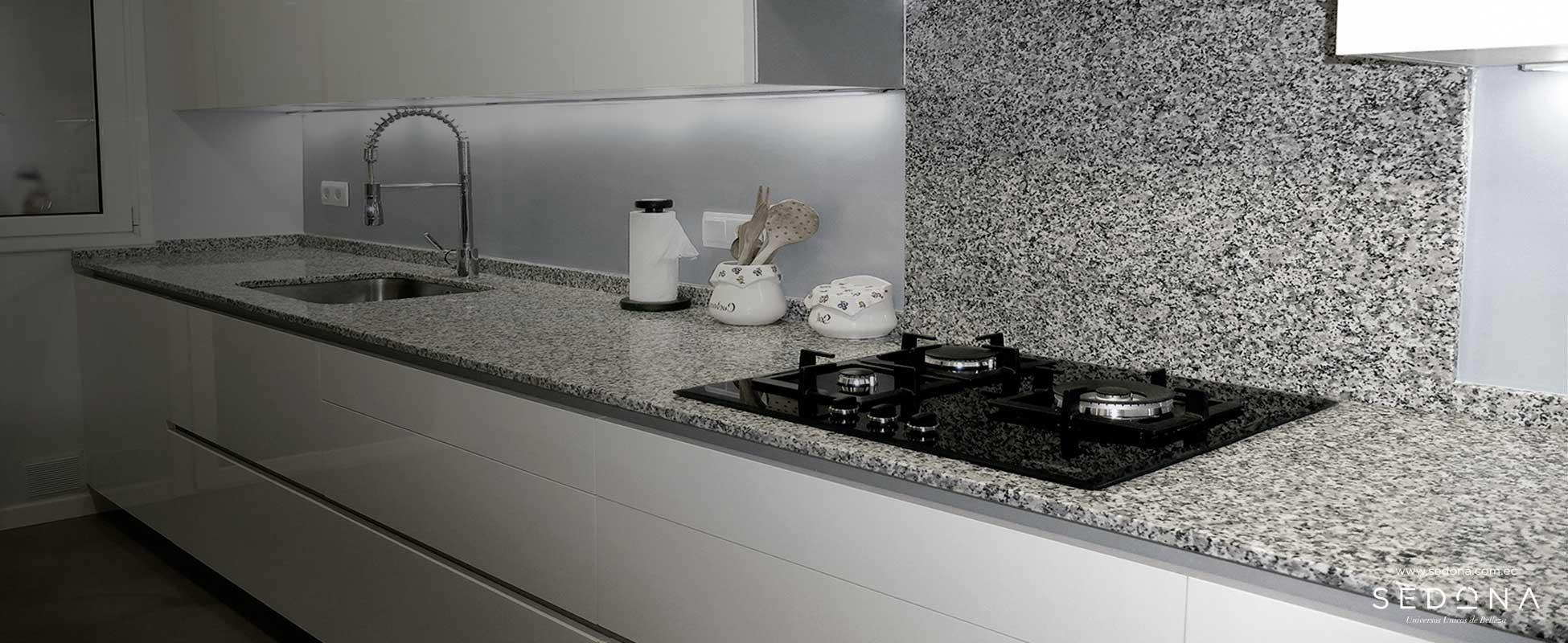 Granito blanco cristal sedona importador directo for Marmol granito blanco